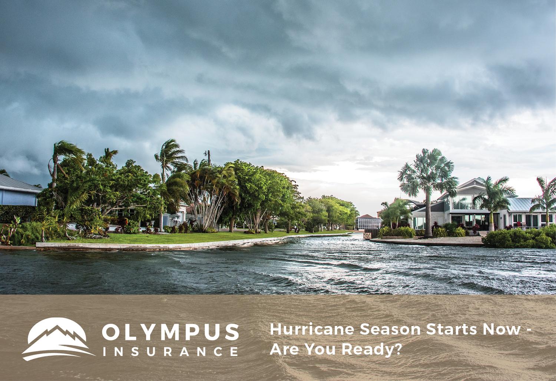 Hurricane Season Starts Now - Are You Ready?