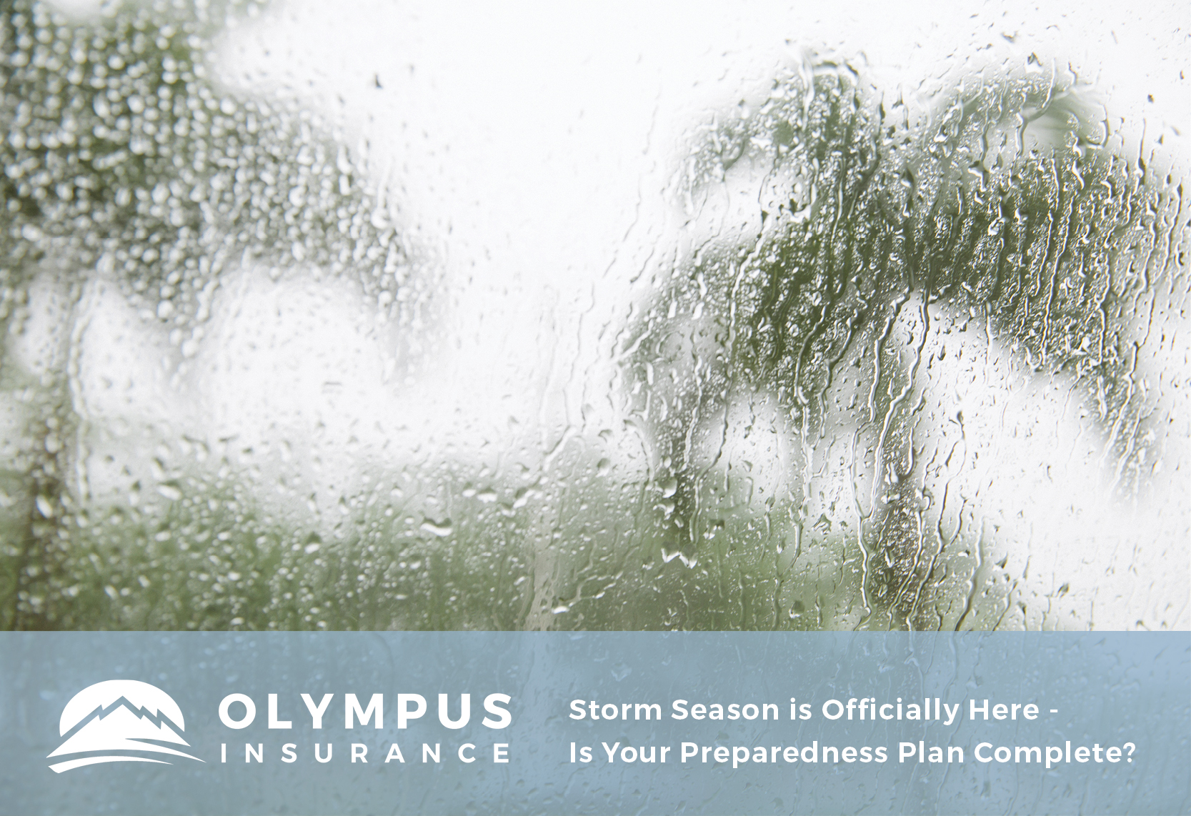 Storm Season is Officially Here - Is Your Preparedness Plan Complete?